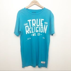True Religion Men's Graphic Short Sleeve T Shirt